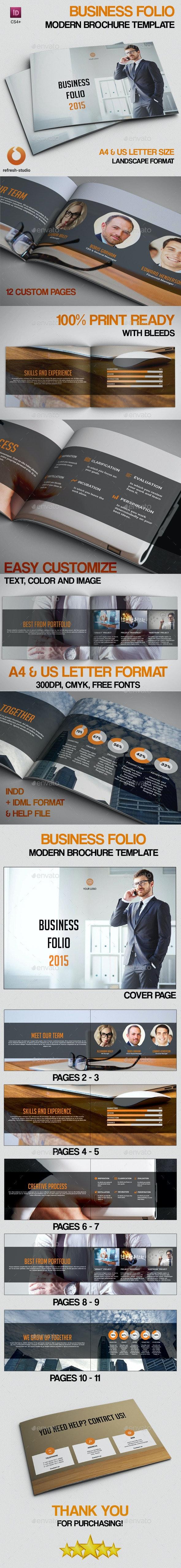 Business Folio - Portfolio Brochures