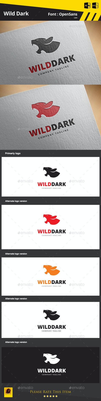 Wild Dark - Animals Logo Templates