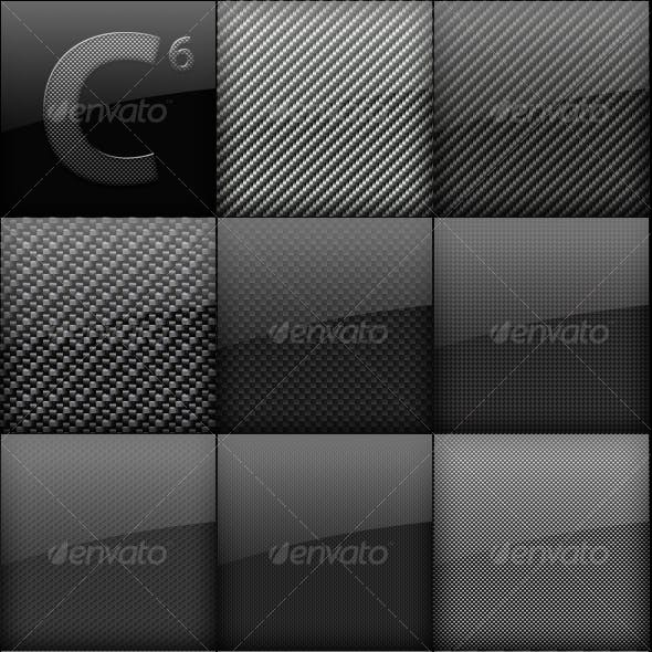 Carbon Fiber Backgrounds Mega Pack