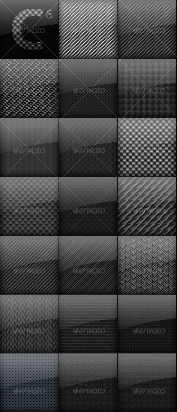 Carbon Fiber Backgrounds Mega Pack  - Backgrounds Graphics