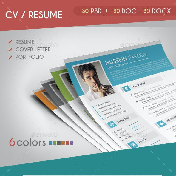 CV / Resume 2