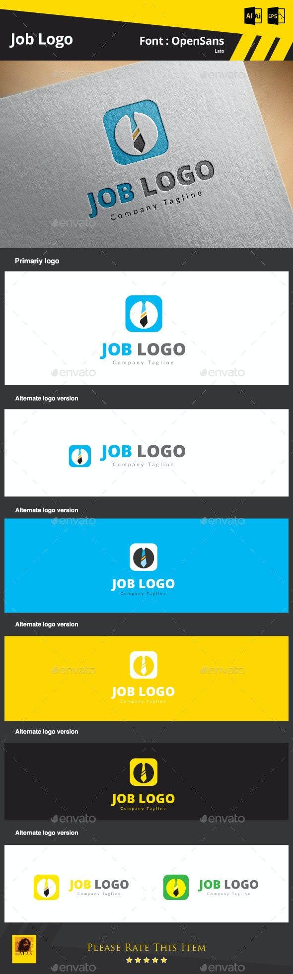 Job Logo - Symbols Logo Templates