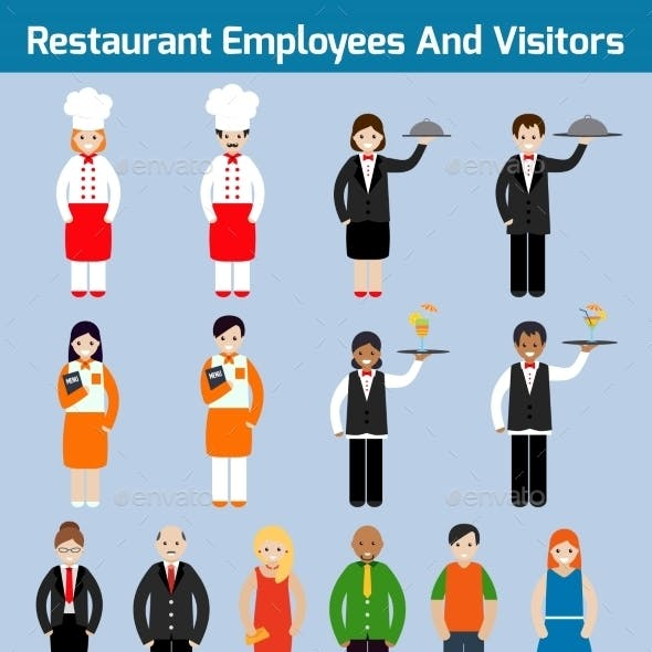 Restaurant Employees Flat