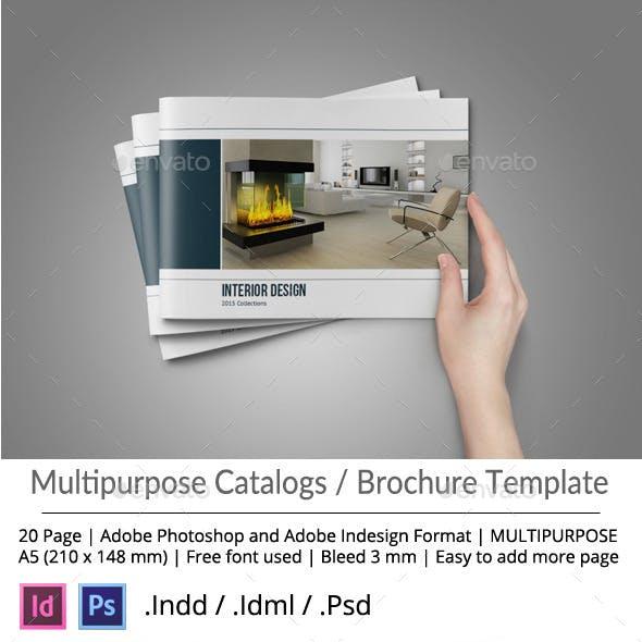 Multipurpose Brochure or Portfolio Album