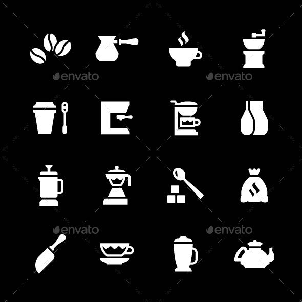 Set Icons of Coffee