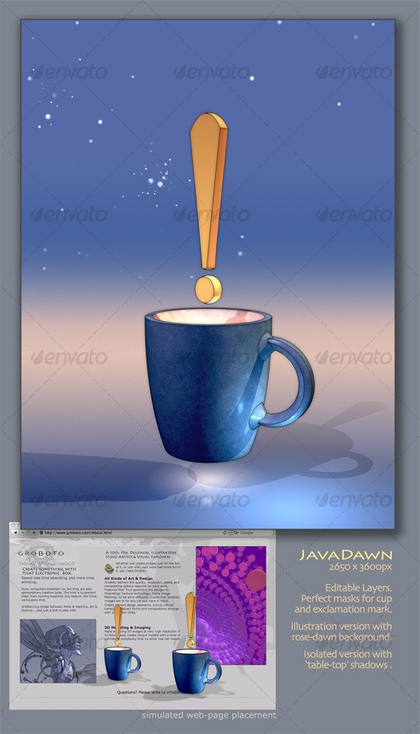 JavaDawn - Objects Illustrations