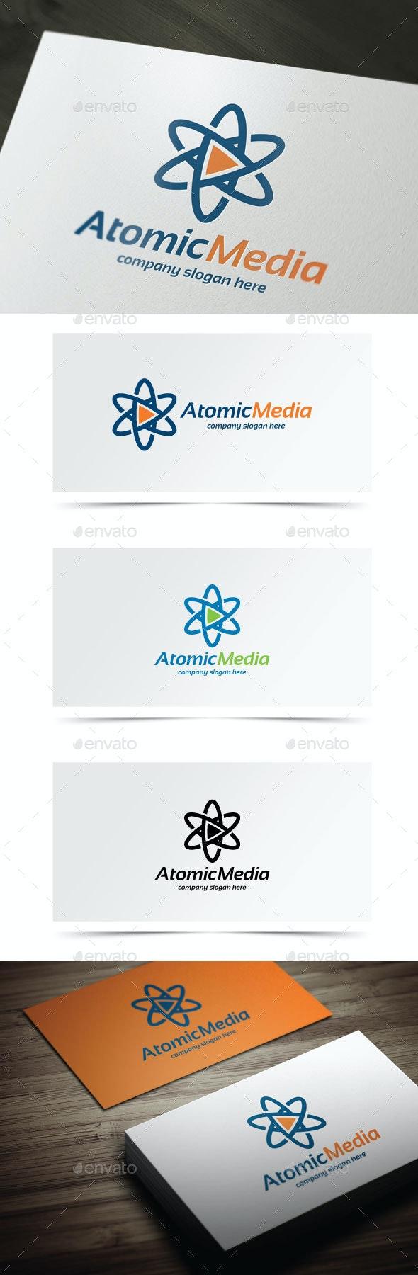 Atomic Media - Symbols Logo Templates