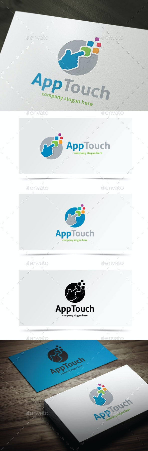 App Touch - Objects Logo Templates