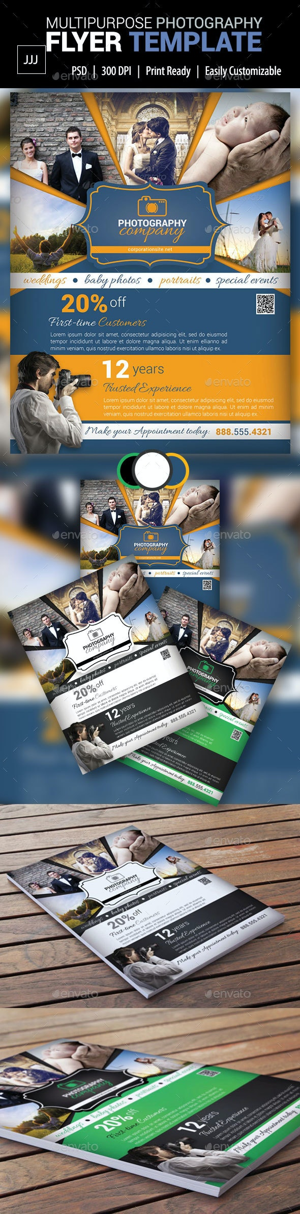 Photography Business Flyer 12 - Corporate Flyers