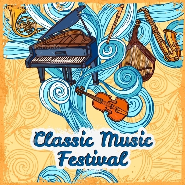 Music Festival Poster - Miscellaneous Conceptual