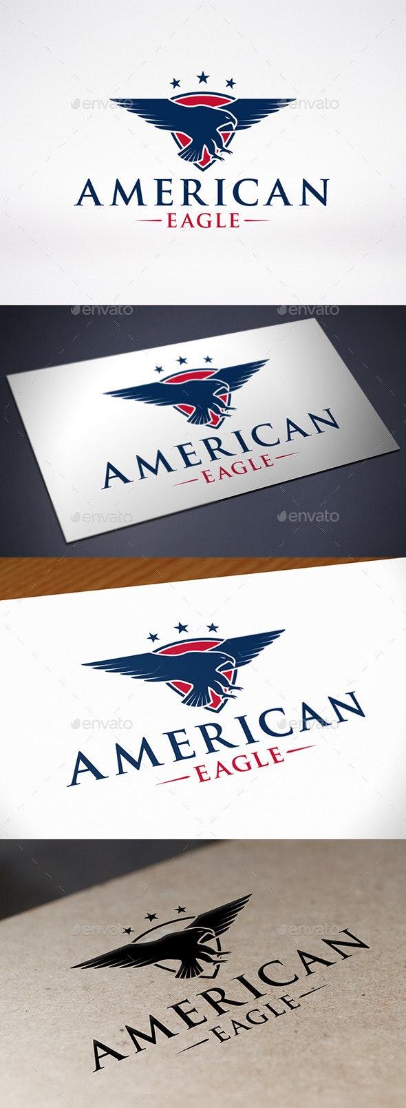 American Eagle Logo - Symbols Logo Templates