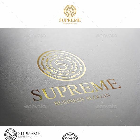 Supreme S Letter Elegant Boutique Logo