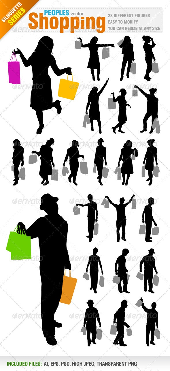 Shopping Peoples - Commercial / Shopping Conceptual