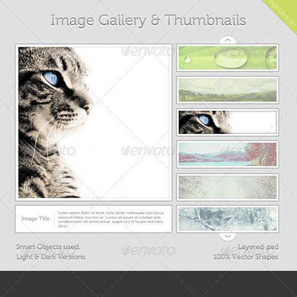 Image Gallery & Thumbnails