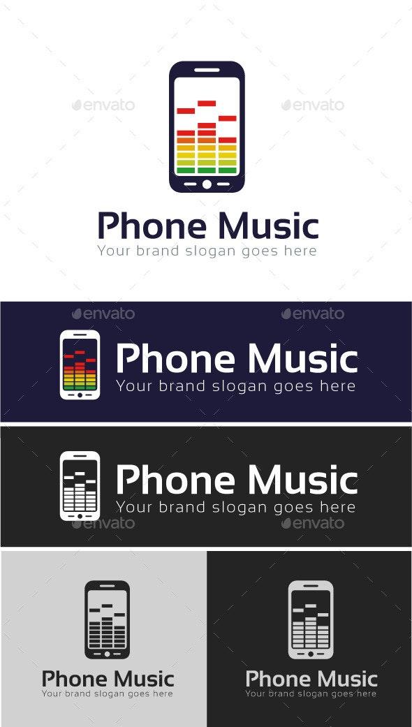 Music App Logo Template - Objects Logo Templates