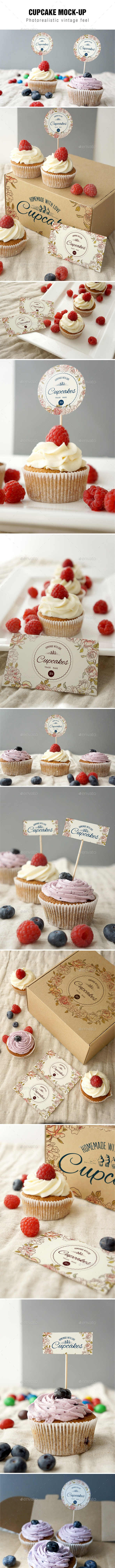 Cupcake Mockup - Signage Print