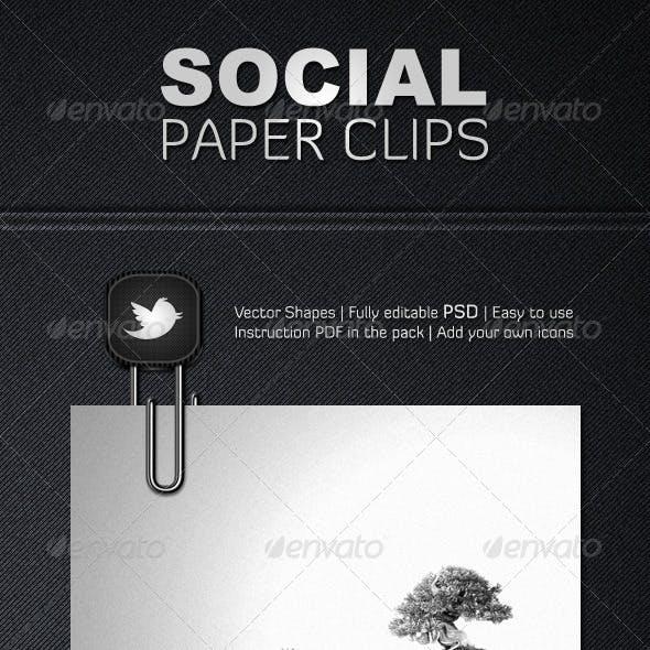 Social Paper Clips