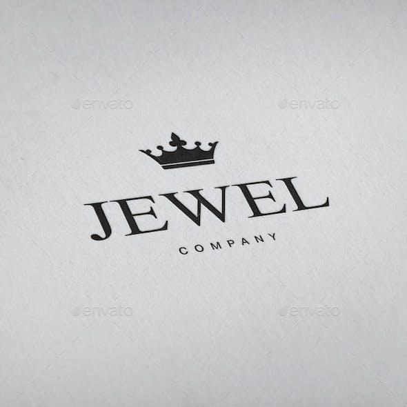 Jewellery Crown Logo Template