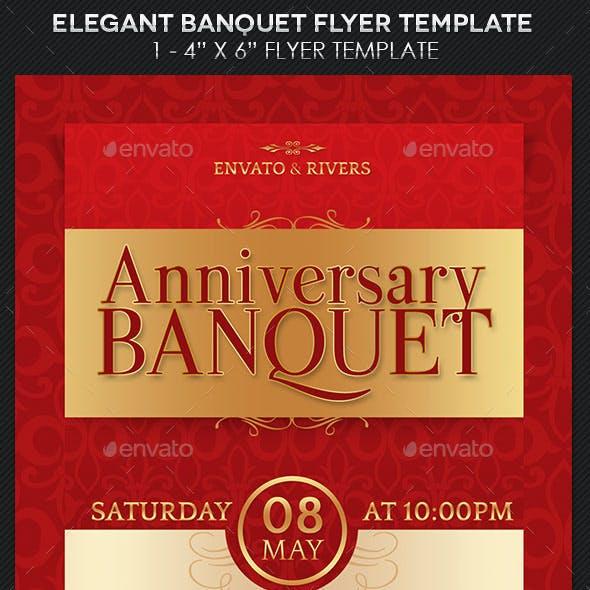 Elegant Banquet Flyer Template