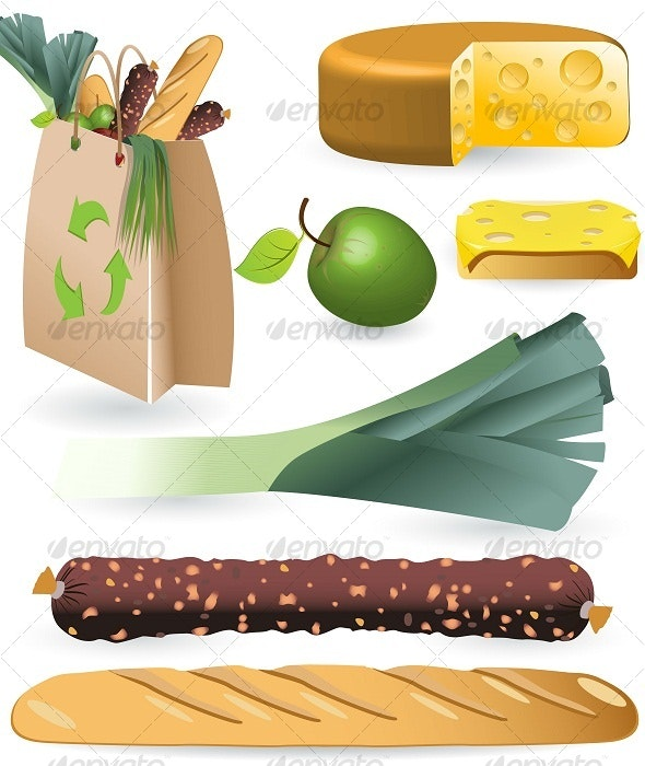 Products - Food Objects