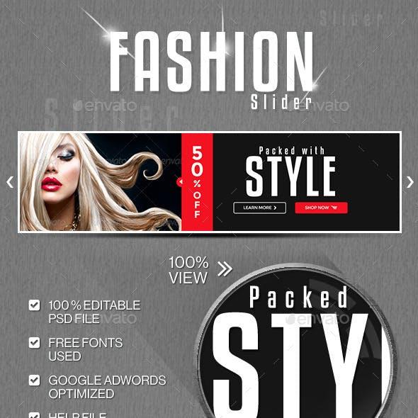 Fashion Sale Slider/Hero Image