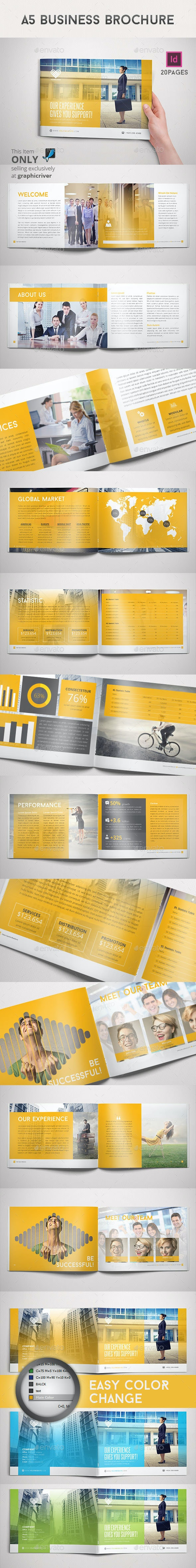 A5 Business Brochure - Corporate Brochures