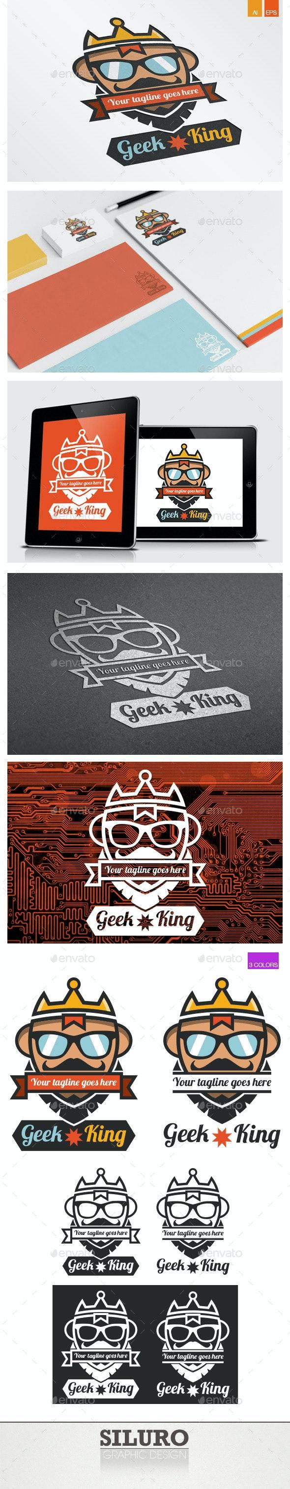 Geek King Logo - Humans Logo Templates