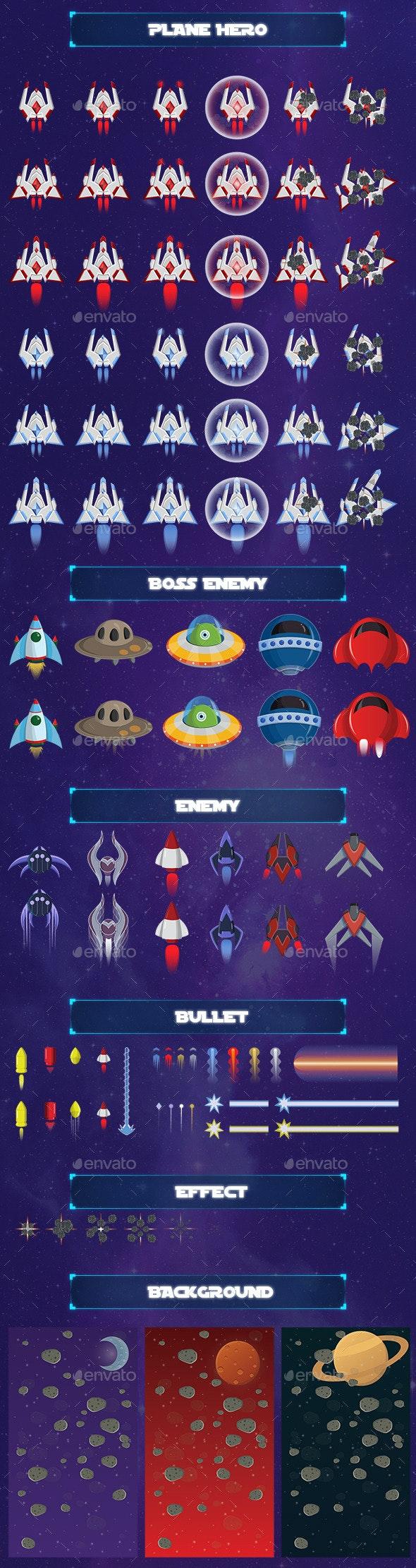 Game Asset - Galaxy Tuner - Game Kits Game Assets
