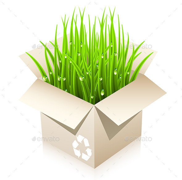 Eco Concept - Objects Vectors