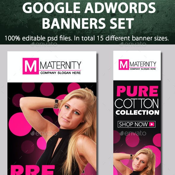 Maternity & fashion banners