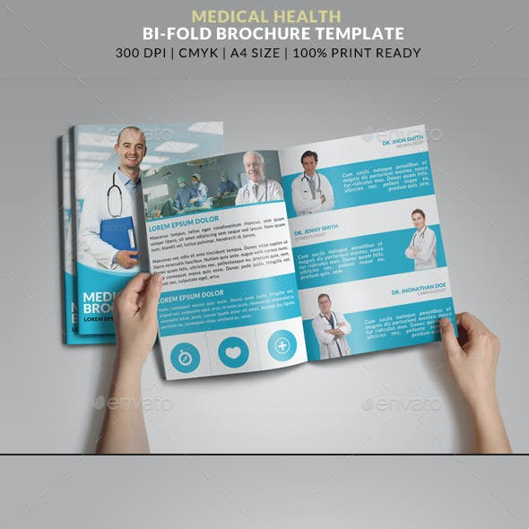 Medical Health Doctor Hospital Bifold Brochure