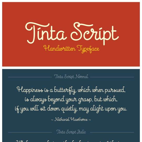 Tinta Script Font