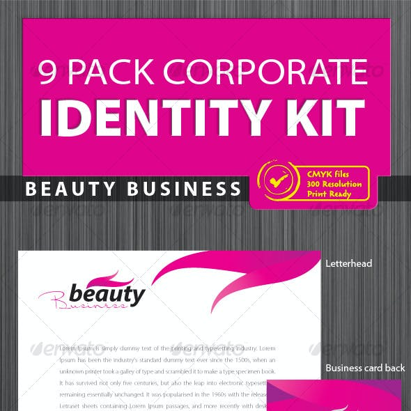 Corporate Identity 9 pack [Print Ready]