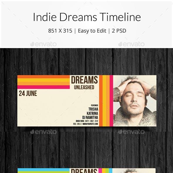 Indie Dreams Timeline