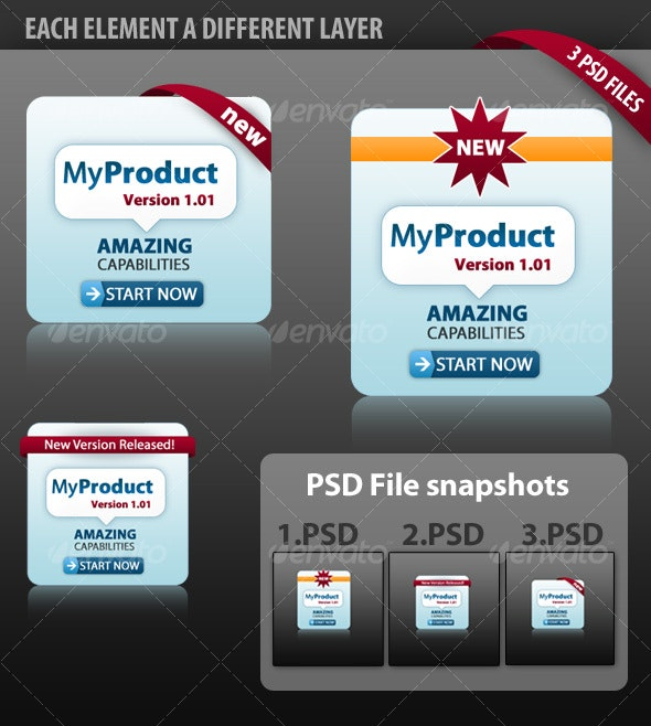 Graphic for showcasing products - Miscellaneous Print Templates