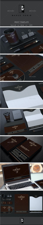 Creative Corporate Identity 25 - Stationery Print Templates