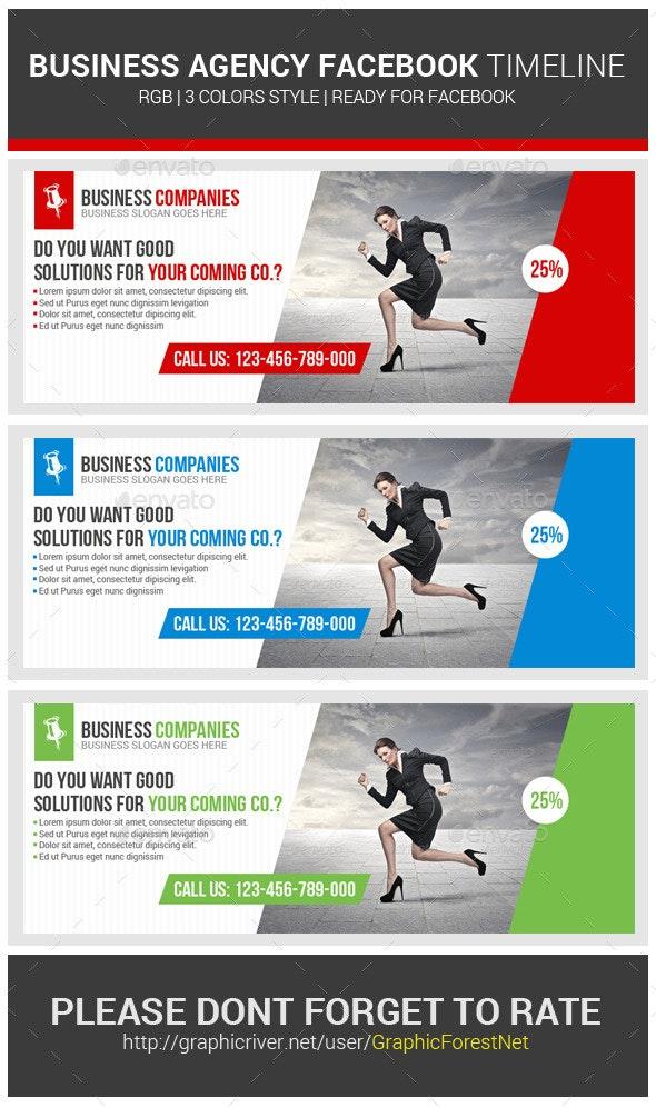 Business Corporate Facebook Timeline Psd - Facebook Timeline Covers Social Media