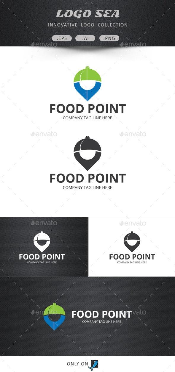 Food Point Vector Logo - Symbols Logo Templates