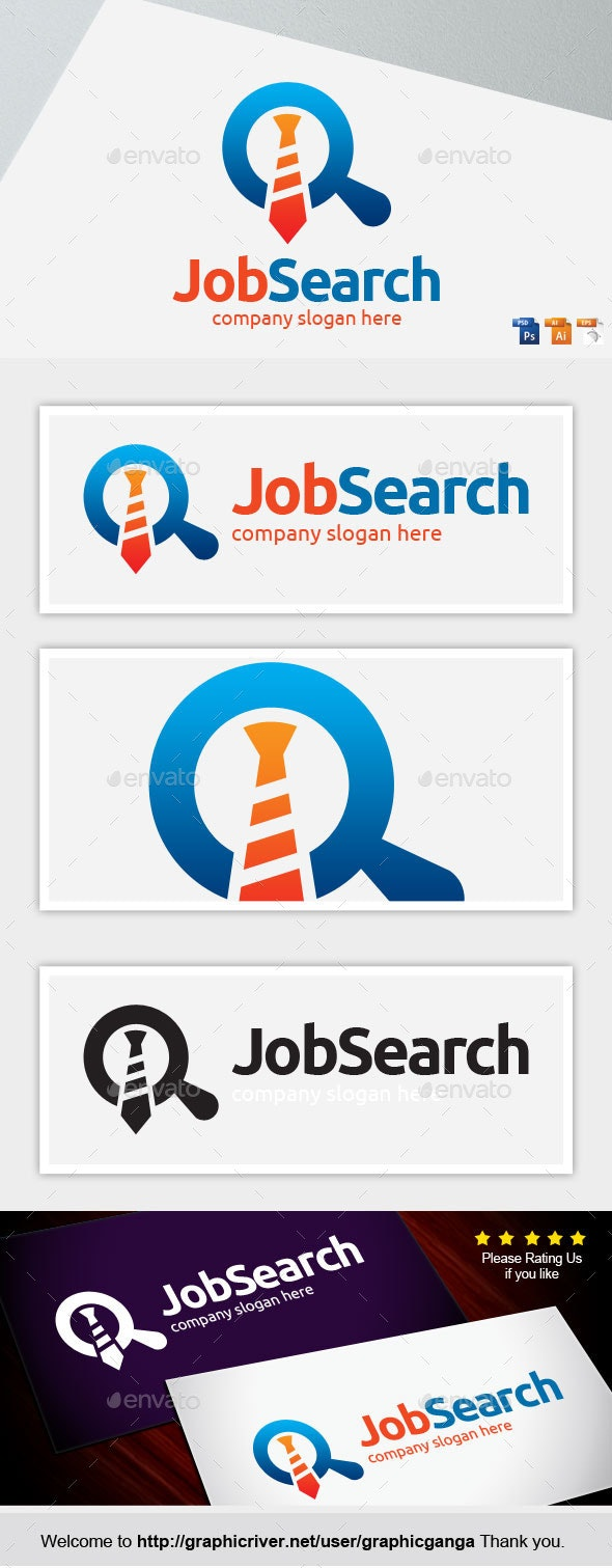 Job Search - Abstract Logo Templates
