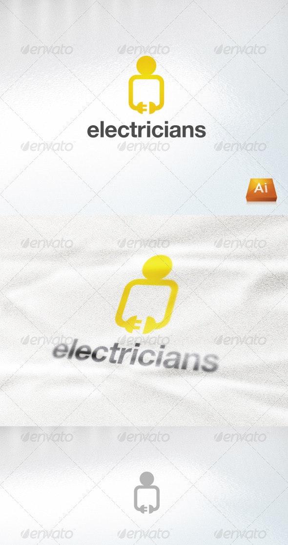 Electricians - Abstract Logo Templates