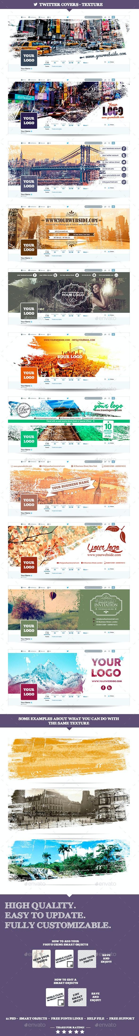 Twitter Covers - Texture - Twitter Social Media