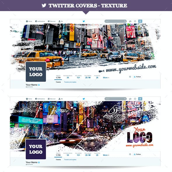 Twitter Covers - Texture