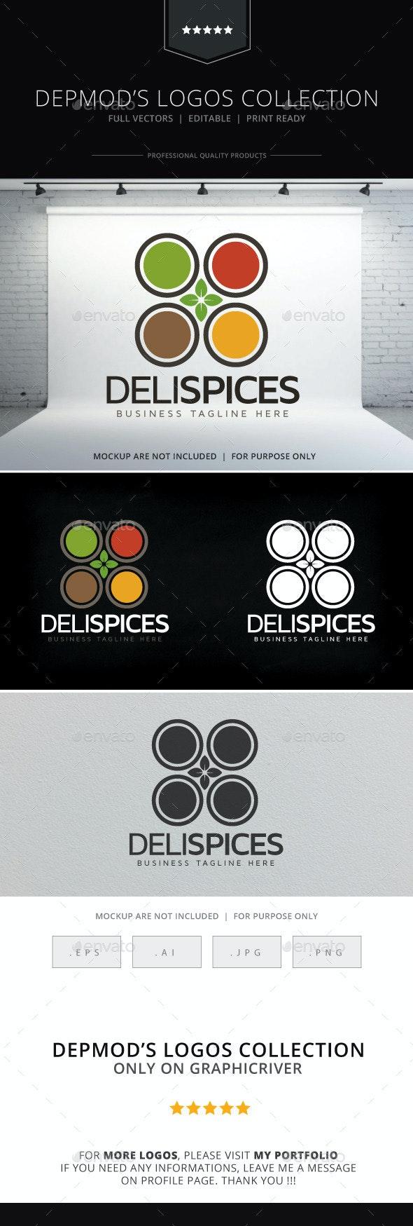 Deli Spices Logo - Food Logo Templates