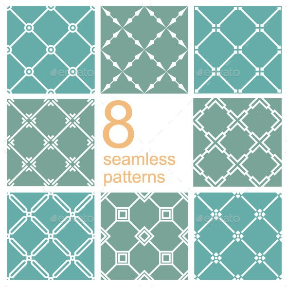 Net Pattern Set - Patterns Decorative