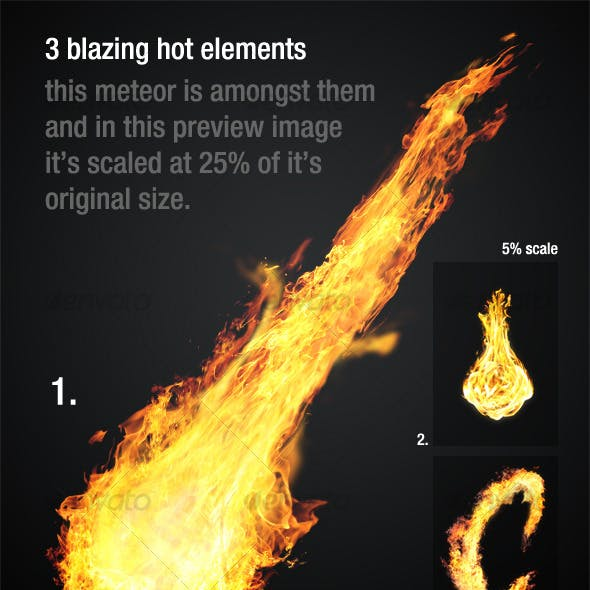 Blazing Hot Fire Elements_vol1