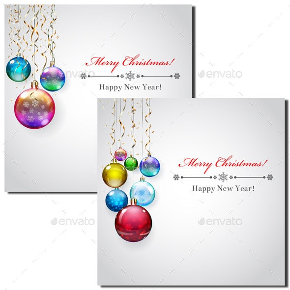 Backgrounds with Christmas Balls - Christmas Seasons/Holidays