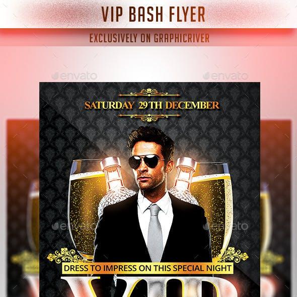 VIP Bash Flyer Template