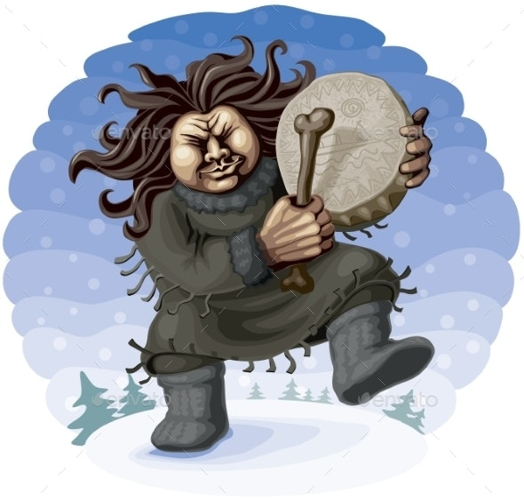 Northern Shaman - People Characters