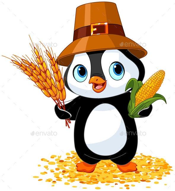 Penguin Farmer - Animals Characters