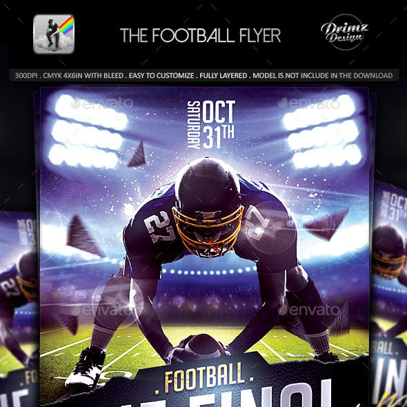 The Football Flyer